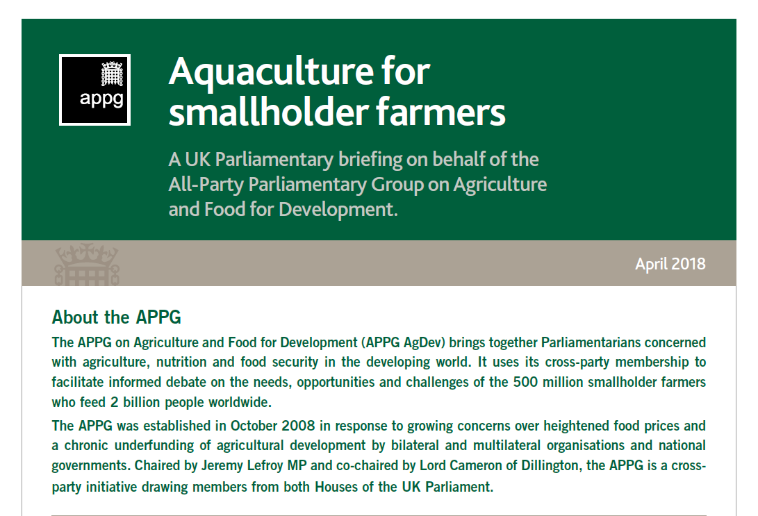 AquacultureForSmallholderFarmers cover